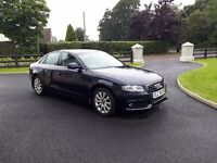 Audi A4 SE - 09, full years MOT, Full service history. Beautiful and very reliable High spec car.