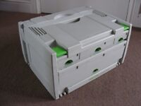 Festool SYS 3 Systainer Sortainer 4 Drawer 491522