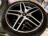 "Genuine 18"" Mercedes alloys"