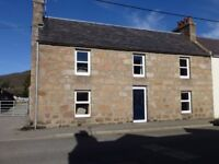 Lovely holiday cottage in centre of Ballater -3 bedrooms (1 ensuite)