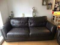 Leather sofa & chair set Great used condition