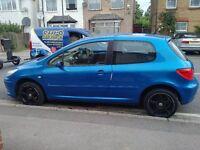 Peugeot 307 1.6 petrol, Sport edition, MOT, quick sell, cheap, bargain