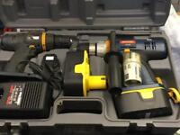 Ryobi Twin Drill Set