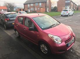 Suzuki Alto (61 reg), pink, 5 door, 53k miles, only 1 owner, £20 tax, recent MOT