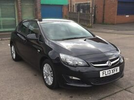 2013 - Vauxhall Astra 1.7 ENERGY CDTI 5d, Special Eds, Manual, Black