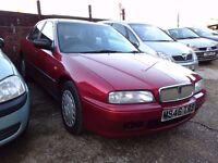 Rover 620SLI Auto, call: 07340962828