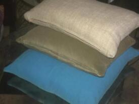 Loaf cushions in various colours