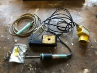 Soldering Iron 110v plus stand
