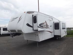 2010 Keystone RV Cougar 320RSX GARAGE/BUNK