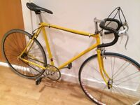 Raleigh vintage single speed racer racing bike