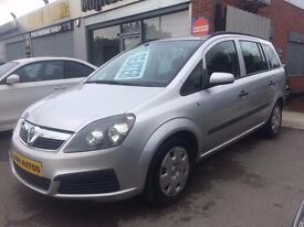 06 Vauxhall Zafira 1.6 Life (Newer Shape) 7 SEATER - MOT Oct - Ideal Family Car - PX WELCOME