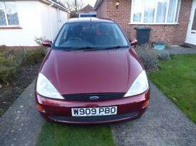 Ford Focus Estate 1.8 LX 5 Door Hatchback, taxed and MOT