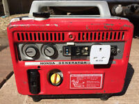 HONDA E300 1969 vintage Petrol Suitcase Generator Camping / workshop , vw camper etc