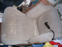 Riser/Recliner armchair, electrically powered, made by A.J.Way