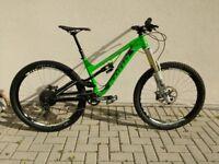Kona Process 153 DL Mountain Bike - New SRAM Code Brakes - Fox 36 Forks - Medium