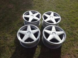 VW, Audi, Seat, Skoda Azev alloy wheels 17' pcs 5x112