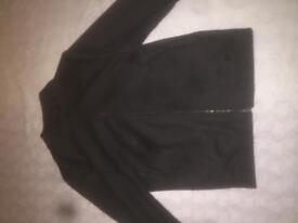 Zara black bomber jakcet