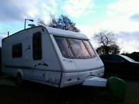 Swift 4 berth new style caravan with all extras required to hit the open road this summer.