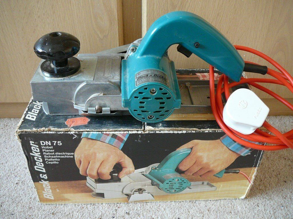 Black Decker Dn75 Electric Planer In Woodbridge Suffolk Gumtree What Does An Do