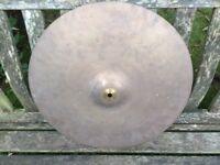 Wokingham Drum Sales - Amati Kaslice 18 inch Cymbal - Crash / Ride - Rare