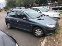 Peugeot 206 1.4 2006 - MOT&TAX - no logbook - drives good - not corsa Clio focus polo micra 307 kia