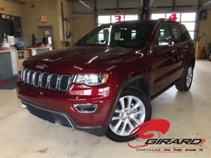 2017 Jeep Grand Cherokee *LIMITED*CUIR*TOIT OUVRANT*NAVIGATION*2