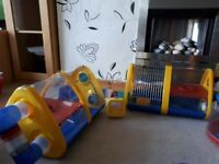 Hamster cage - adventure playground for your hamster. Free hamster runaround ball and tv
