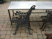 Cast Iron Ends for Garden Seats