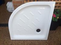 Roca corner shower tray 800