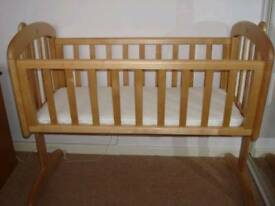 John Lewis Anna Swinging Crib