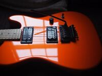 Charvel San Dimas Pro Mod Style 2 Telecaster w/ Floyd Rose, Made in USA. Upgrades.