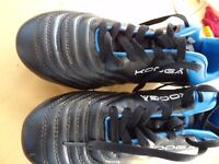 Mens size 10 Kooga KP 4000 rugby boots steel studs Excellent condition