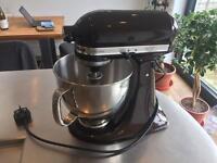 KitchenAid Artisan 4.8L Mixer Espresso colour + Spiralizer attachemen