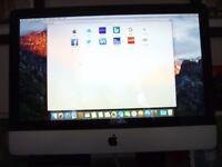 "Apple Mac iMac Desktop Computer - 21.5"" Screen"