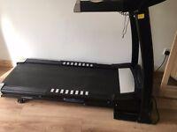black treadmill