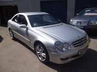 Mercedes Benz CLK 220CDI Avantgarde coupe,08 Reg,Private number plate,full MOT,full leather interior