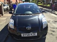 2008 58 TOYOTA YARIS 1.3 VVTI SR 5 DR,61000 MILES,EXCELLENT CONDITION