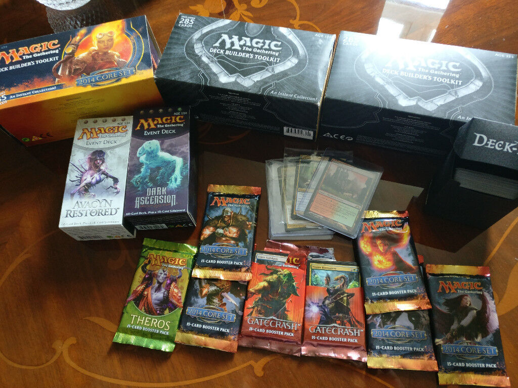 Magic The Gathering Cards: 2 event decks, 3 deck builder packs, 8 packs |  in Houghton Le Spring, Tyne and Wear | Gumtree