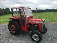 Massey 240 / 135 tractor