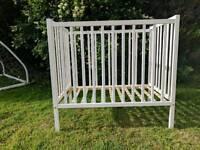 Free! Kiddicare space saving small cot