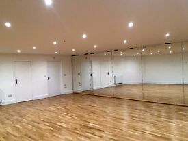 Dance Studio and Sports Hall available for hire