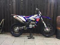 Sherco sef-r 250 enduro bike