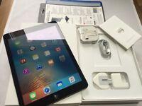 ALMOST NEW IPAD AIR 16gb, WIFI + CELLUAR 4G (Vodaphone), BOXED, CASE