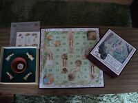"""Limited Release Beatrix Potter """"Paths and Burrows"""" (Snakes and Ladders) Board Game. Vintage used."""