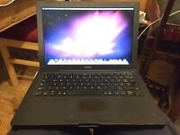 apple laptop a1181 black in full working order