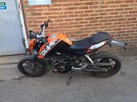 Ktm duke 1 abs model 2013 reg