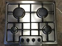 GAS HOB - 4-burner Stainless Steel