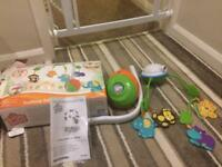 Bright starts 2-in-1 safari mobile. Brand new. Never used. Collection only.