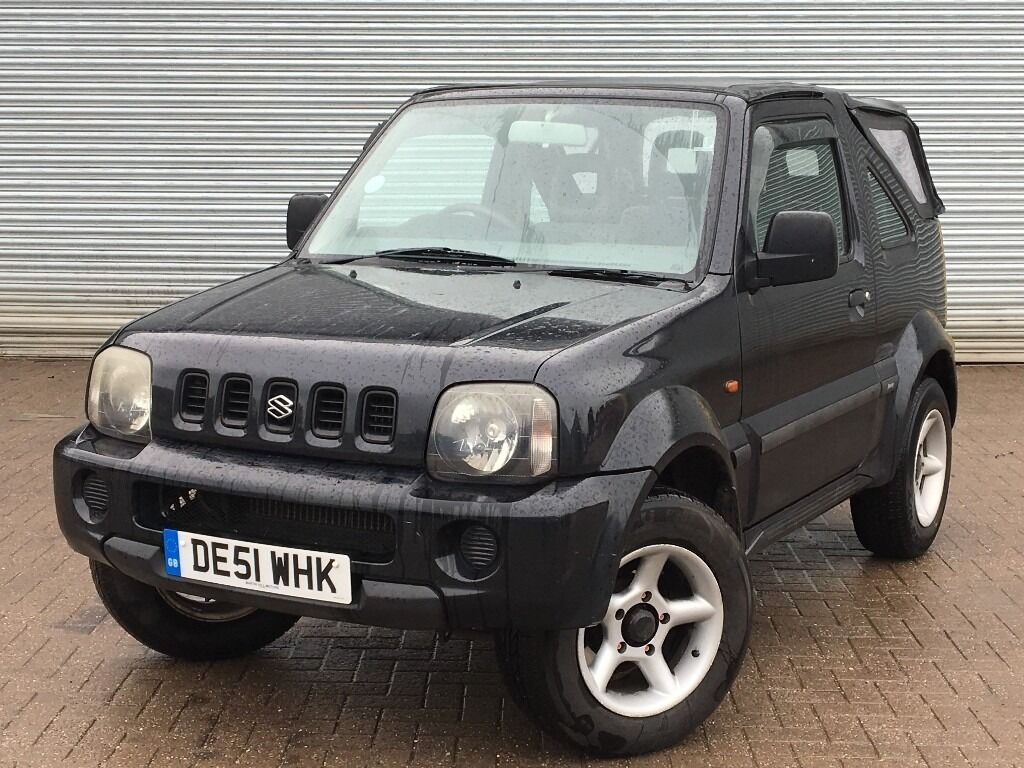 2001 suzuki jimny jlx 1 3 engine convertible 4x4 long mot in poole dorset gumtree. Black Bedroom Furniture Sets. Home Design Ideas