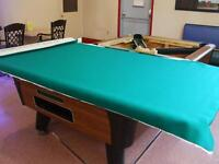 Pooltable Supplies and Service